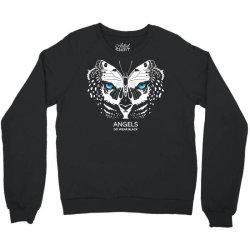 angels do wear black   jonny cota studio print Crewneck Sweatshirt   Artistshot