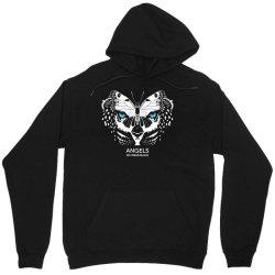 angels do wear black   jonny cota studio print Unisex Hoodie   Artistshot
