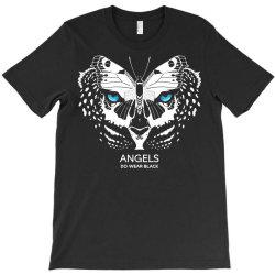 angels do wear black   jonny cota studio print T-Shirt   Artistshot