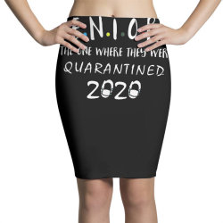 class of 2020 graduation senior funny quarantine Pencil Skirts | Artistshot