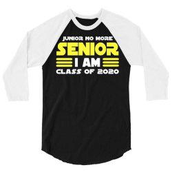 class of 2020 when got real covid 19 coronavirus 3/4 Sleeve Shirt | Artistshot