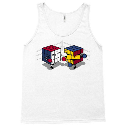 Cube Fight! Tank Top Designed By Raffiti