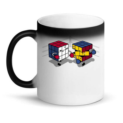 Cube Fight! Magic Mug Designed By Raffiti