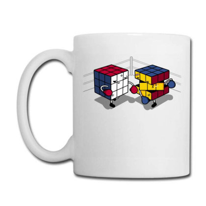 Cube Fight! Coffee Mug Designed By Raffiti