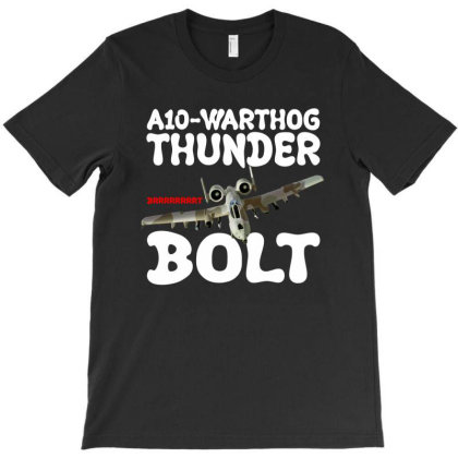 A10 Warthog Thunder Bolt For Dark T-shirt Designed By Gurkan