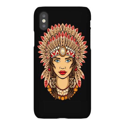 Girl Indian Iphonex Case Designed By Estore