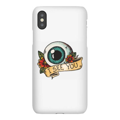 I See You Iphonex Case Designed By Estore