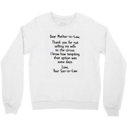 mother in law Crewneck Sweatshirt | Artistshot