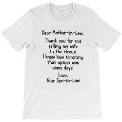 mother in law T-Shirt | Artistshot