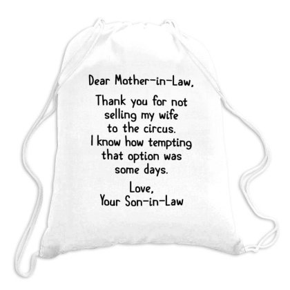 Mother In Law Drawstring Bags Designed By Hoainv