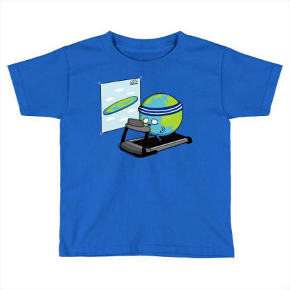 Round Earth! Toddler T-shirt Designed By Raffiti
