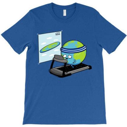 Round Earth! T-shirt Designed By Raffiti