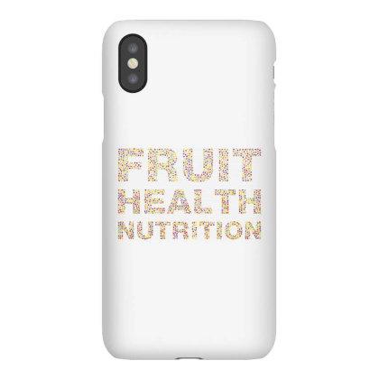 Fruit Health Nutrition Iphonex Case Designed By Estore