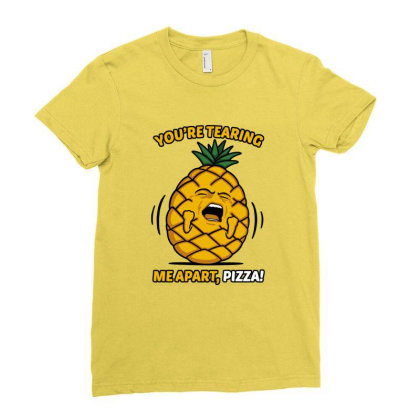 The Disaster Ingredient! Ladies Fitted T-shirt Designed By Raffiti