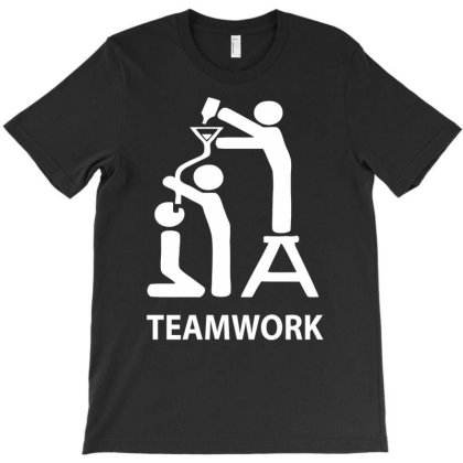Team Work T-shirt Designed By Ramateeshirt