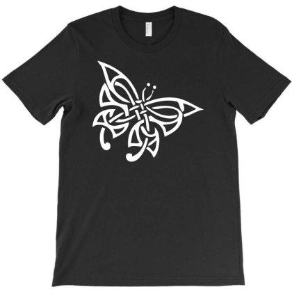 Tribal Celtic Butterfly T-shirt Designed By Ramateeshirt