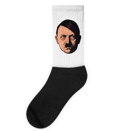 Adolf Hipster Hitler Socks Designed By Estore