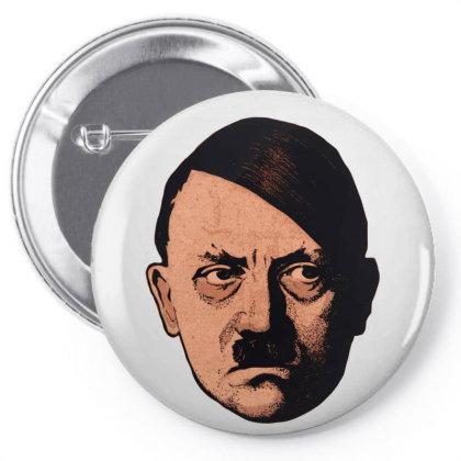 Adolf Hipster Hitler Pin-back Button Designed By Estore
