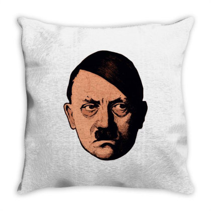 Adolf Hipster Hitler Throw Pillow Designed By Estore