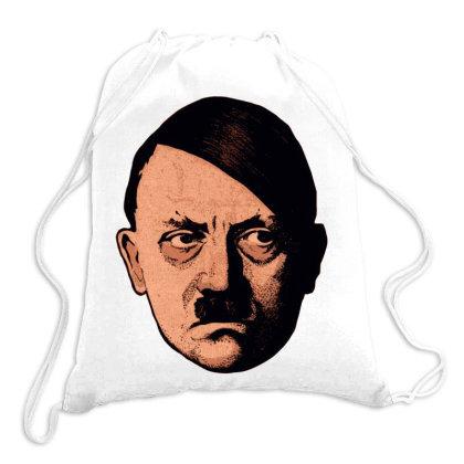 Adolf Hipster Hitler Drawstring Bags Designed By Estore