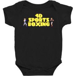 4d Sports Boxing Baby Bodysuit | Artistshot
