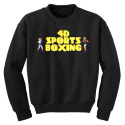 4d Sports Boxing Youth Sweatshirt | Artistshot