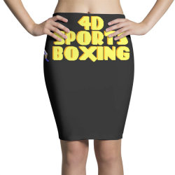 4d Sports Boxing Pencil Skirts | Artistshot