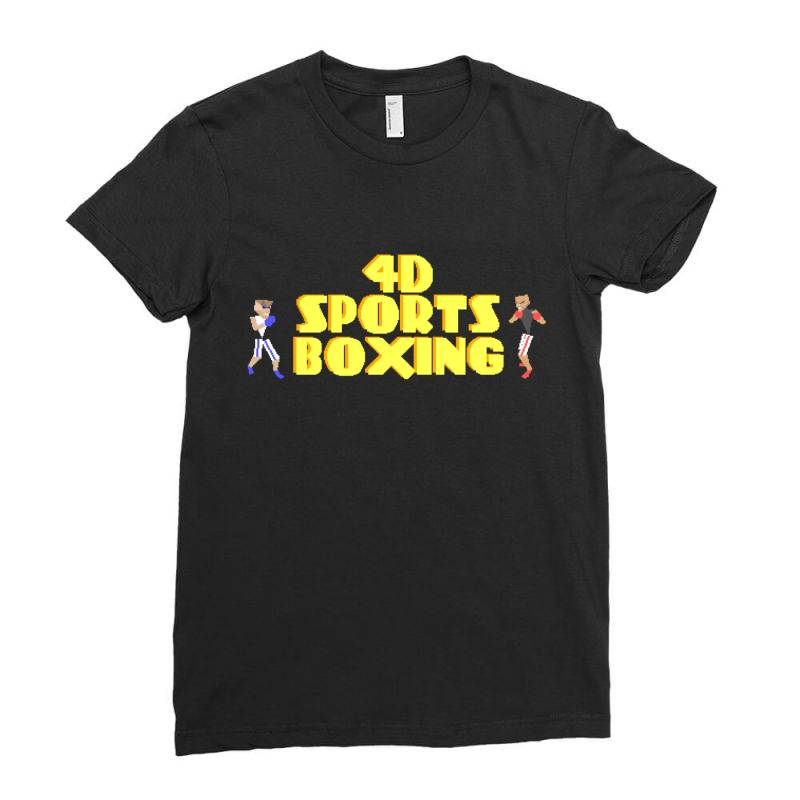 4d Sports Boxing Ladies Fitted T-shirt | Artistshot