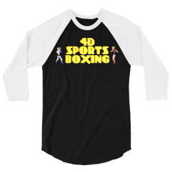 4d Sports Boxing 3/4 Sleeve Shirt | Artistshot
