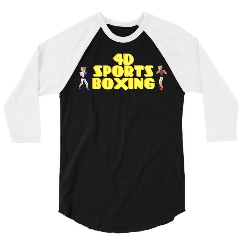 4d Sports Boxing 3/4 Sleeve Shirt   Artistshot