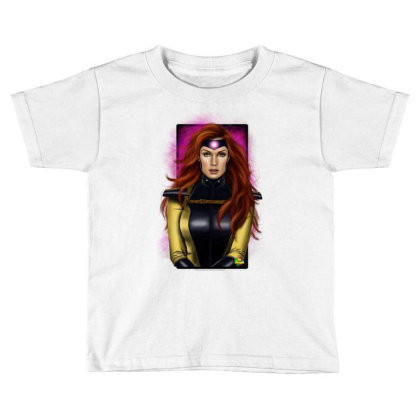 Jean Grey Toddler T-shirt Designed By Nro Arte Digital