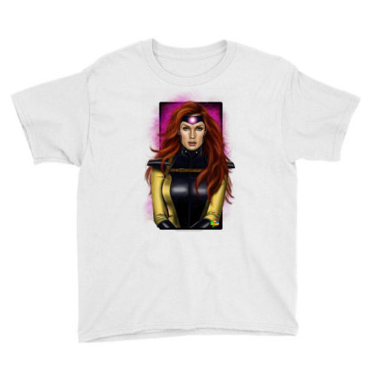 Jean Grey Youth Tee Designed By Nro Arte Digital