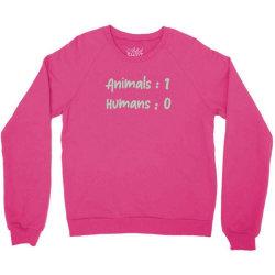 animals vs Humans Crewneck Sweatshirt | Artistshot