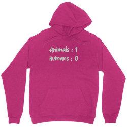 animals vs Humans Unisex Hoodie | Artistshot