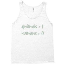 animals vs Humans Tank Top | Artistshot