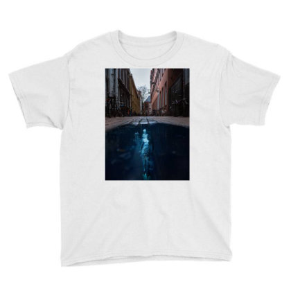Under Water City Youth Tee Designed By Keremcgrc