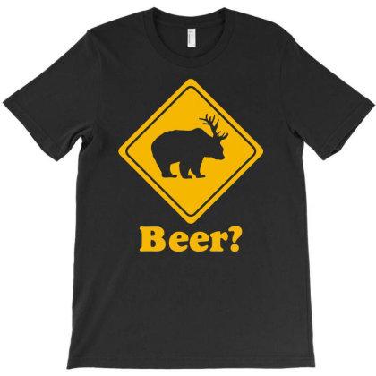 Beer Deer T-shirt Designed By Ramateeshirt
