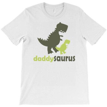Daddysaurus Funny Humor T-shirt Designed By Ramateeshirt