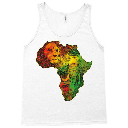 Africa Tank Top Designed By Ricov Design