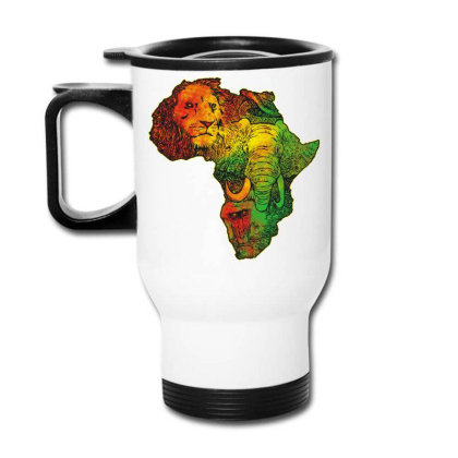 Africa Travel Mug Designed By Ricov Design