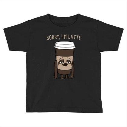 Latte! Toddler T-shirt Designed By Raffiti
