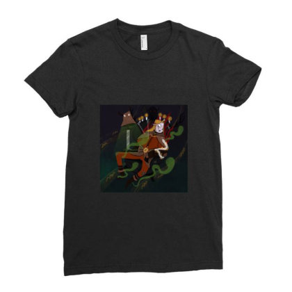 Other World Ladies Fitted T-shirt Designed By Derinaslan
