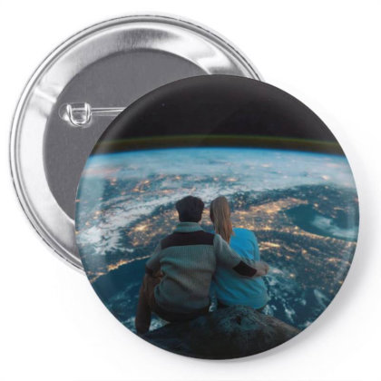 Love In Space Pin-back Button Designed By Omerpsd