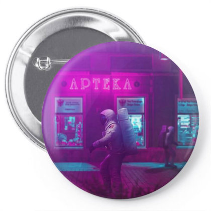 Purple Astro Pin-back Button Designed By Omerpsd