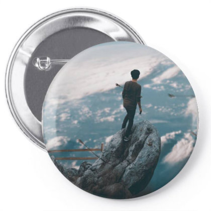 The Simulation Pin-back Button Designed By Omerpsd