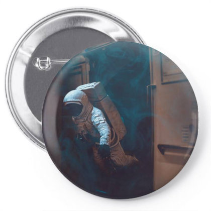 Spaceman Ii. Pin-back Button Designed By Omerpsd