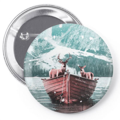 Deers Pin-back Button Designed By Omerpsd