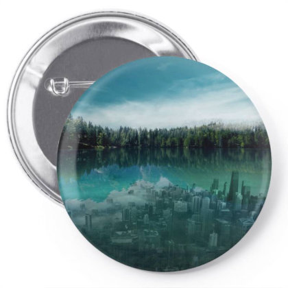 Underwater City Pin-back Button Designed By Josef.psd