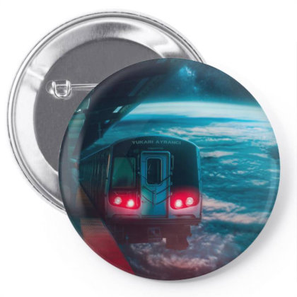 On Space Pin-back Button Designed By Omerpsd