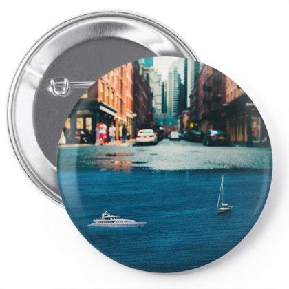 Street Sea Pin-back Button Designed By Josef.psd